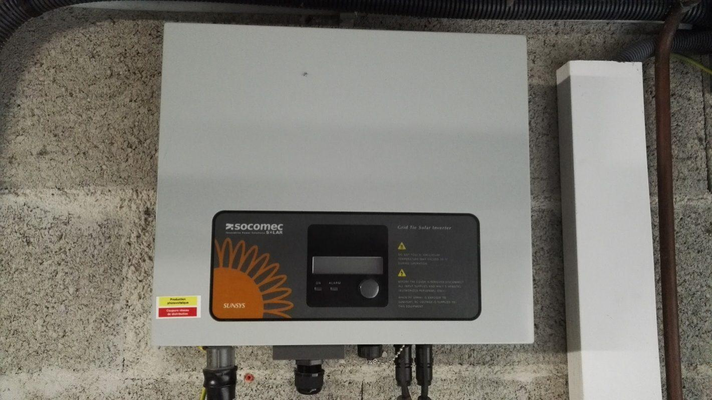 REMPLACEMENT SOCOMEC SUNSYS 3300