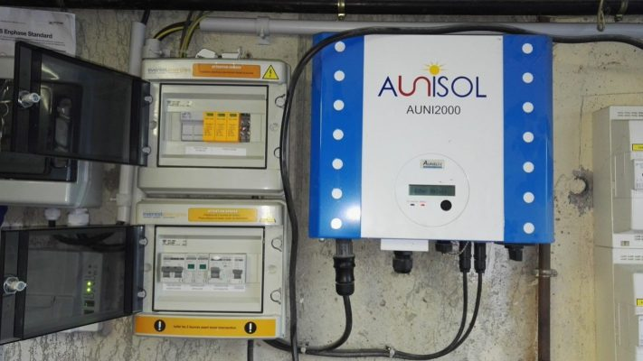 Remplacement Onduleur Aunisol Auni2000