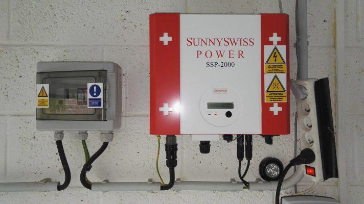 DÉPANNAGE SUNNYSWISS SSP-2000